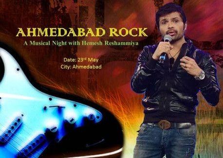 Bollywood Singer Himesh Reshammiya Live in Concert in Ahmedabad