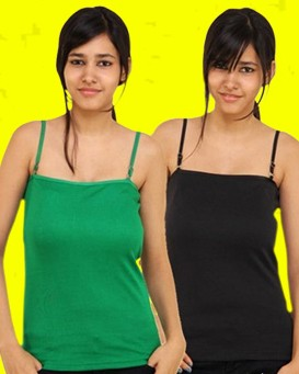Buy Spaghetti Top Online India from AskMeBazaar.Com - Pack of 6 Pieces at Cost of Rs