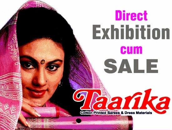 Direct Exhibition cum Sale by Taarika Sarees at Ahmedabad