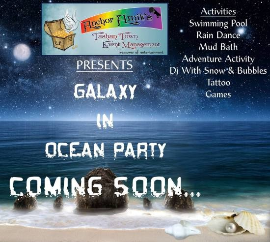Galaxy in Ocean Party in Ahmedabad