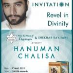 Shekhar Ravjiani to Launch Hanuman Chalisa in Ahmedabad on 3rd April 2015