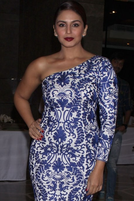 Huma Qureshi at GeoSpa asiaSpa India Awards 2015.jpg