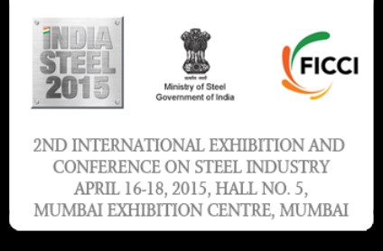 India Steel 2015 Mumbai – 2nd International Exhibition for Steel Industry at Mumbai India.png