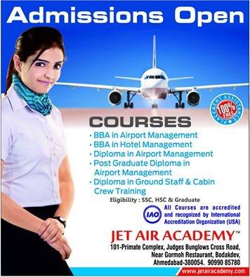 Jet Air Academy Ahmedabad