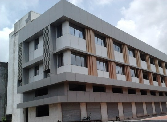 Kuber Classic Commercial Complex in Rajkot at Dr Yagnik Road