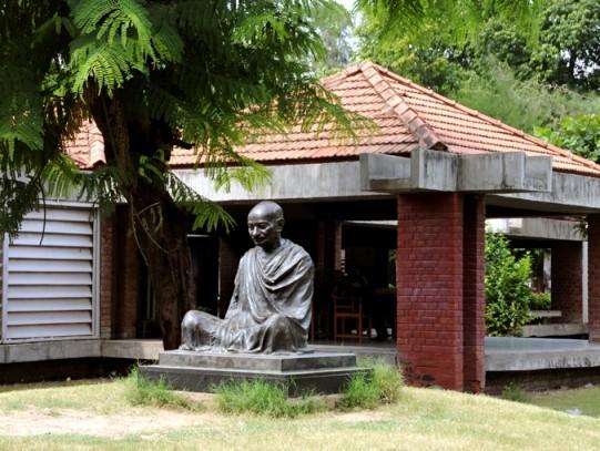 Mahatma Gandhi Ashram at Sabarmati in Ahmedabad Gujarat.jpg