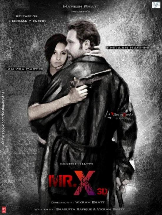 Mr. X Hindi Movie Release Date 2015 – Mr. X Bollywood Film with Cast Crew Details