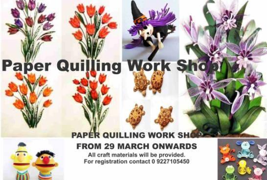 Paper Quilling Workshop in Vadodara