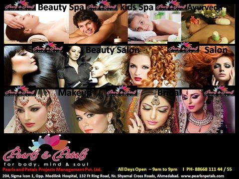 Pearls & Petals Beauty Spa and Salon at Ahmedabad