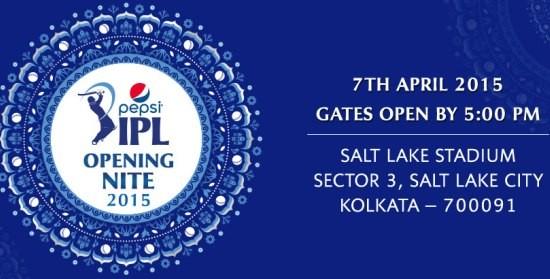 Pepsi IPL 8 Opening Ceremony