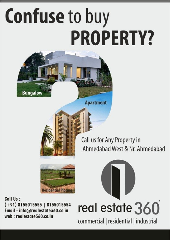 Real Estate 360 Commercial  Residential  Industrial Property in Ahmedabad