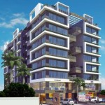 Saransh Courtyard in Ahmedabad – 3 BHK Ultra Luxurious Apartments & Shops by Chanchal Infrastructure