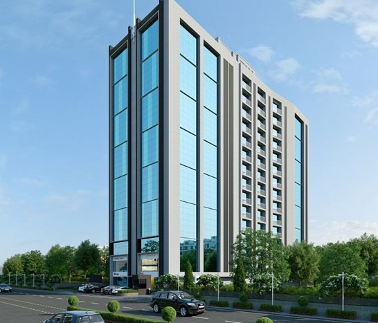 Sheth Corporate Tower in Ahmedabad