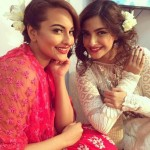 Sonam Kapoor and Sonakshi Sinha Latest Photos at The Mijwan Show 2015