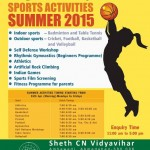 Summer Camp 2015 Ahmedabad – Summer Sports Activities at CN Sports Academy