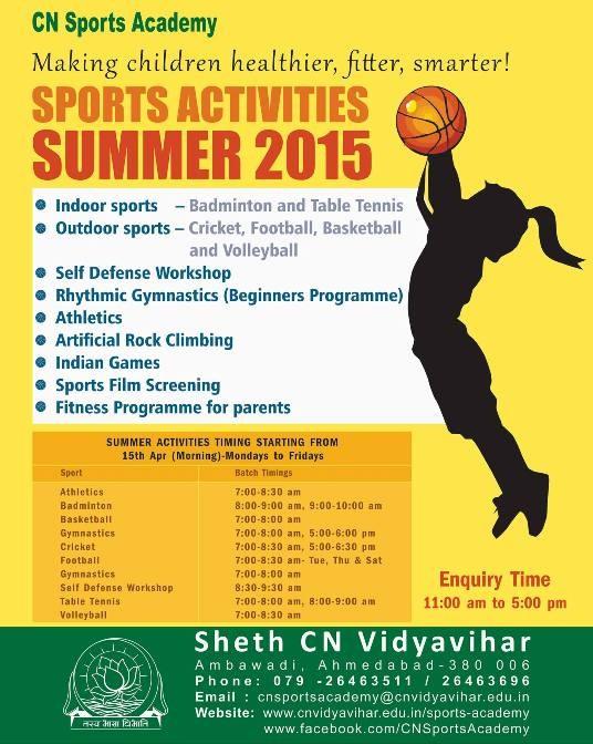 Summer Camp 2015 Ahmedabad