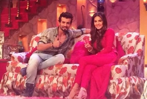 Sunny Leone and Jay Bhanusali at Comedy Nights with Kapil.jpg