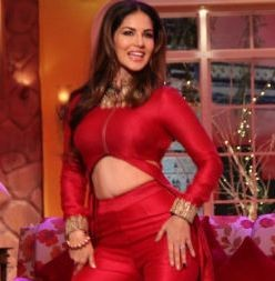 Sunny Leone in Comedy Nights With Kapil for Ek Paheli Leela Movie Promotion