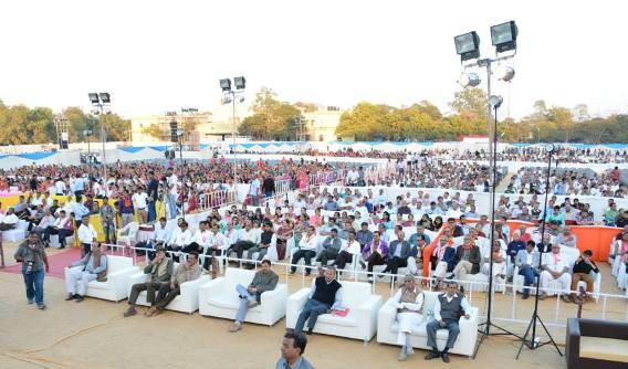 Sutar Cast Gathering Photos in Rajkot 2015