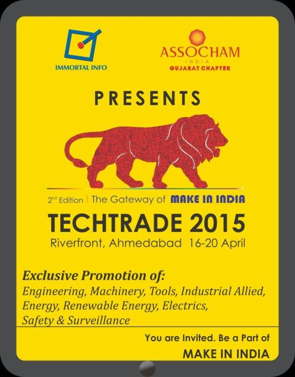 TechTrade 2015 Exhibition Ahmedabad