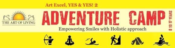 The Art of Living Adventure Camp in Vadodara at Vasad Ashram on May 2015.jpg