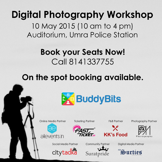 Digital Photography Workshop in Surat Gujarat - 10 May 2015