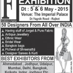 Fashion Mantra Exhibition 2015 in Rajkot at The Imperial Hotel on 5th to 6th May