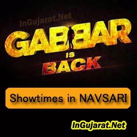 Gabbar is Back in Navsari Theatres – Movie Showtimes of Gabbar Is Back in Navsari