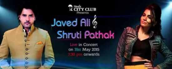Javed Ali & Shruti Pathak Live in Concert 2015 in Rajkot