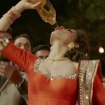 Kangana Ranaut Cleavage Photos Hot Pics in Orange Dress in Tanu Weds Manu Returns Movie 2015