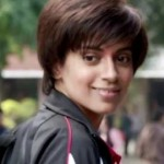 Kangana Ranaut New Haircut Latest Hairstyles Look With Short and Strait Hair in Tanu Weds Manu Returns