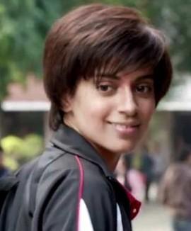 Kangana Ranaut Hairstyles new Look in Tanu Weds Manu Returns