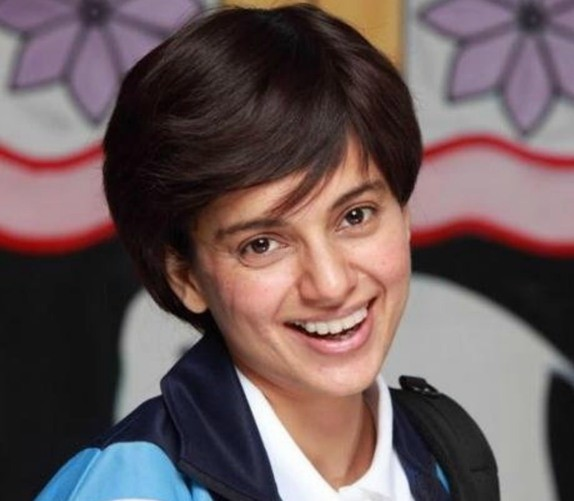 Kangana Ranaut New Haircut Latest Hairstyles Look With Short and Strait Hair in Tanu Weds Manu Returns.jpg