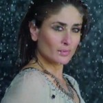 Kareena Kapoor Hot Look in Wet Costumes during Rain Song Teri Meri Kahani in Gabbar Is Back Movie