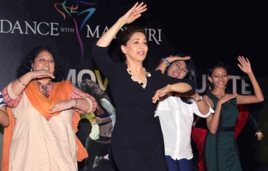 Madhuri Dixit New Mobile App Launch Photos