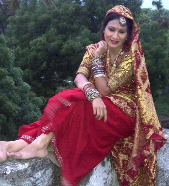 Nimisha Tadvi in Traditional Bharwadi Rabari Bharwad Costumes