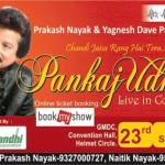 Pankaj Udhas Live in Concert at Ahmedabad on 23rd May 2015