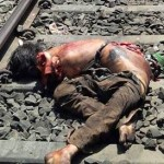 Railway Track Accidents Images near Wankaner Gujarat – Suicide Case Photos / Very Bad Pictures