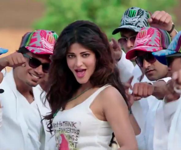 Shruti Haasan Hot Photos in White Tube Top