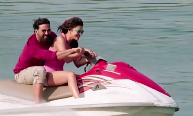 Shruti Haasan hot Pink Bikini in Gabbar Is Back Movie
