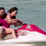 Shruti Hassan Pink Bikini Photos in Gabbar Is Back Film 2015