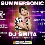 Summersonic Pool Party 2015 in Vadodara at AUM Health Resort with DJ Smita