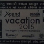Vacation 2015 Exhibition in Ahmedabad Presents by Gandhi Corporation on May