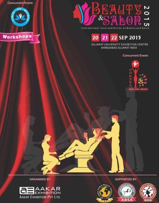 Beauty & Salon Expo 2015 at Ahmedabad