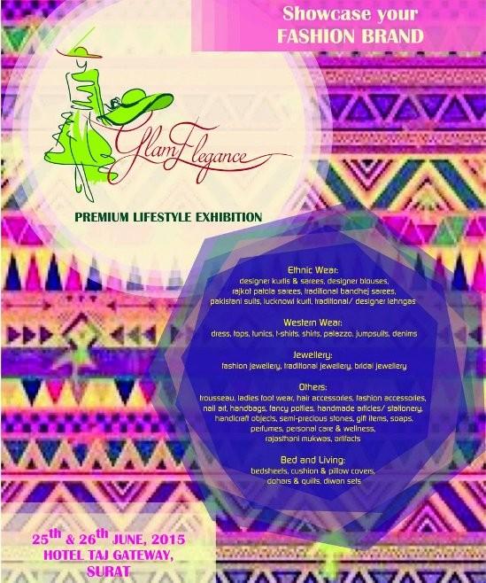 Glam Elegance Premium Lifestyle Exhibition 2015 Surat