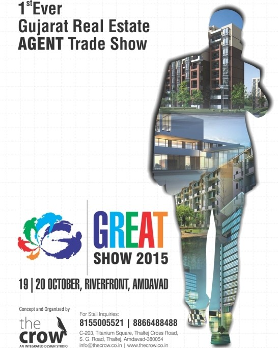 Gujarat Real Estate Agent Trade Show in Ahmedabad 2015