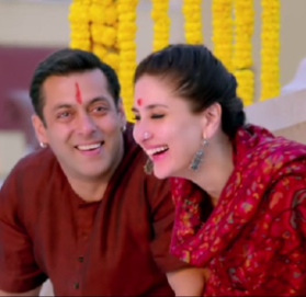 Kareena Kapoor and Salman Khan Still Photos from Bajarangi Bhaijaan Hindi Movie 2015