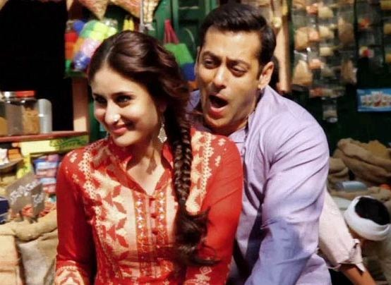 Kareena kapoor and salman khna in bajarangi bhaijaan