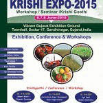 Krishi Expo 2015 – Workshop / Seminar / Krishi Gosthi in Gandhinagar from 6 to 8 June 2015