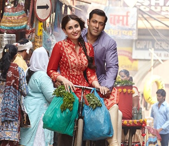 Salman khan and kareena kapoor photos from bajarangi bhaijaan